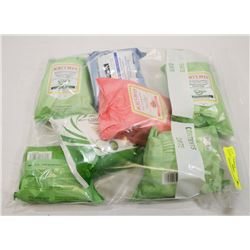 BAG OF ASSORTED FACE WIPES