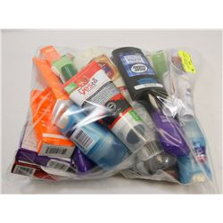 BAG OF ASSORTED INCLUDING DEODORANT AND MORE