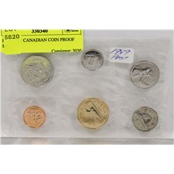 RCM 1989 CANADIAN COIN PROOF SET,