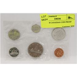 RCM 1968 CANADIAN COIN PROOF SET,