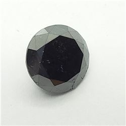 11) GENUINE BLACK DIAMOND GEMSTONE