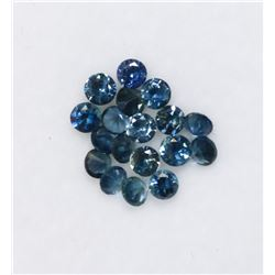 31) ASSORTED DIAMOND CUT SAPPHIRE GEMSTONES