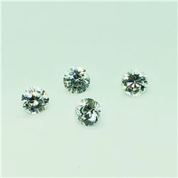 115) 4 PCS CUBIC ZIRCONIA