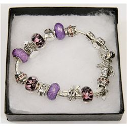 NEW! PANDORA STYLE CHARM BRACELET