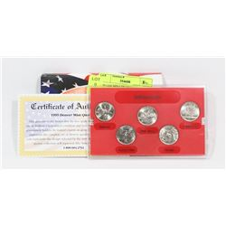 1999 USA MINT QUARTER SET