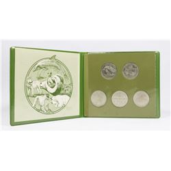 GREENPEACE COLLECTOR COIN SET