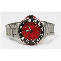 MENS TAG HEUER WATCH. S/N WAC1113-0JU0756.