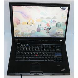 LENOVO THINKPAD WIN 7 PRO LAPTOP WITH AC CHARGER
