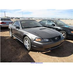 2003 - FORD MUSTANG// RESTORED SALVAGE