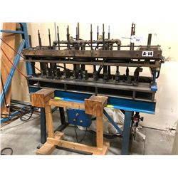 8 HEAD, 6' PNEUMATIC PUNCH TOOL WITH STAND