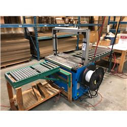 BANDING MACHINE WITH 2 IN FEED ROLLERS