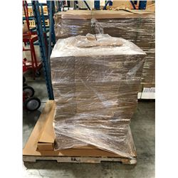 PALLET OF CARDBOARD PACKING MATERIAL