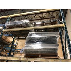 3 PALLETS OF WIRE PALLET RACKING SHELVING
