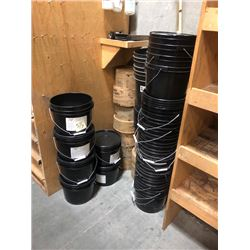 LOT OF MISC BUCKETS AND HARDWARE