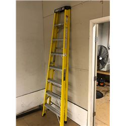 INDUSTRIAL 8' FIBREGLASS FOLDING LADDER