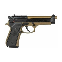 "BERETTA 92FS 9MM 4.9"" 2-15RD BRONZE"