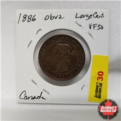 Canada Large Cent 1886 Obv2