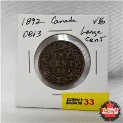 Canada Large Cent 1892 Obv3