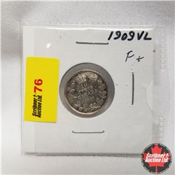 1909 Canada 10¢  Victorian Leaves