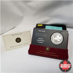 """Canada Silver Proof Dollars (2): 2005 """"Pride is in the Air Celebrate the 40th Anniversary of Canada'"""