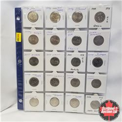USA Commemorative State Quarters (Sheets - 52 Coins)