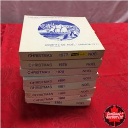 Canada Christmas Plate Collection (8): 1977 > 1984