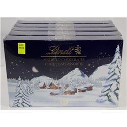 5 BOXES OF LINDT ASSORTED CHOCOLATES