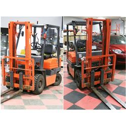 FEATURED TOYOTA 1500KG 2 STAGE FORKLIFT