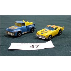 1956 FORD TRUCK & '57 T-BIRD HOTWHEELS