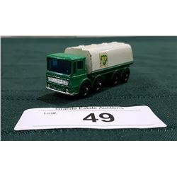 VINTAGE LESNEY BP FUELS TANKER DIE CAST TRUCK