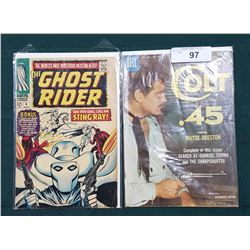 10CENT COLT 45 COMIC & 12CENT GHOST RIDER COMIC