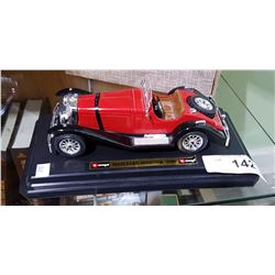 1928 MERCEDES BENZ SSK ROADSTER DIE CAST CAR