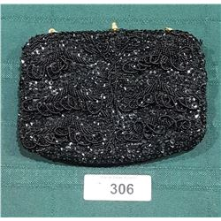 VINTAGE BEADED/SEQUINNED CLUTCH