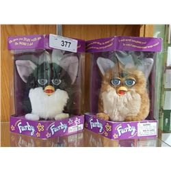 TWO 1998 N.O.S. FURBIES