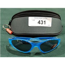 "NEW RYDERS ""GRIND"" SUNGLASSES W/CASE"