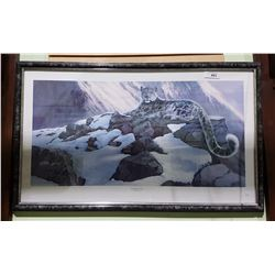 "FRAMED LIMITED EDITION RUSSELL COBANE PRINT 636/850 TITLED ""HIMALAYAN MAJESTY"""