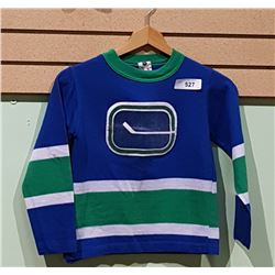 VANCOUVER CANUCKS JERSEY CHILD'S MED.