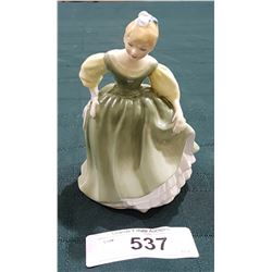 ROYAL DOULTON FAIR MAIDEN FIGURINE 5""