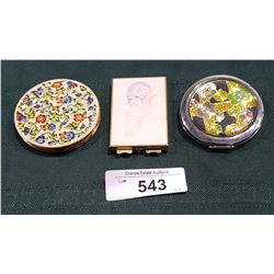 3 VINTAGE COMPACTS