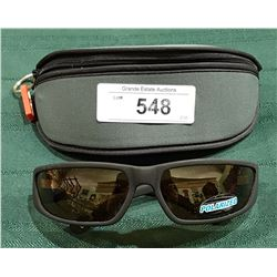 "NEW RYDERS ""TIDAL POLAR"" POLARIZED SUNGLASSES W/CASE"