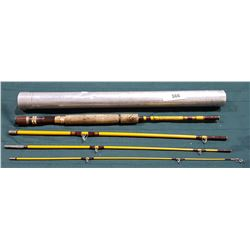"VINTAGE WRIGHT & MCGILL CO. EAGLE CLAW ""TRAILMASTER"" SPIN/FLY ROD"