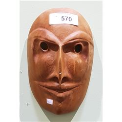 NATIVE CARVED WOOD MASK