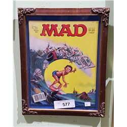 VINTAGE FRAMED MAD MAGAZINE