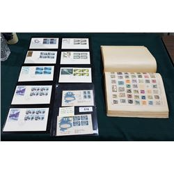 VINTAGE FIRST DAY & VINTAGE STAMP ALBUM