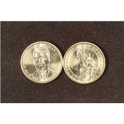 $25 ROLL OF 2016-D RONALD REAGAN PRESIDENTIAL $'S