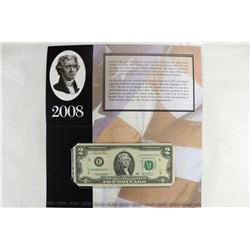 2003-A RICHMOND $2 SINGLE NOTE SERIAL NUMBER