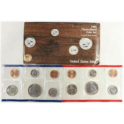 1985 US MINT SET (UNC) P/D (WITH ENVELOPE)