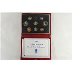 1990 UNITED KINGDOM PROOF COIN COLLECTION