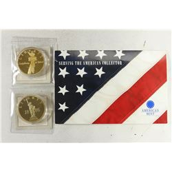 STATUE OF LIBERTY COMMEMORATIVE MEDALS EACH