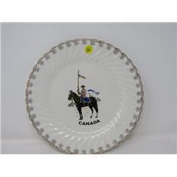 RCMP DECORATIVE PLATE (JOHNSON BROS.) *SOVEREIGN POTTERS*